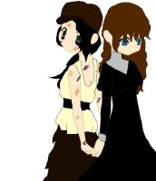 Eponine and Cosette: Sisters by MiRami