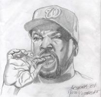 Sketch: Ice Cube by YoungCutthroat
