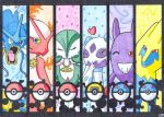 ..::Pokemon Team 2015::.. by Melody714