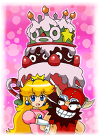 peach y booster by Goombarina