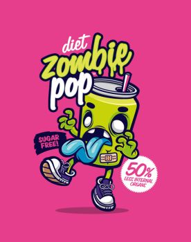 Diet Zombie Pop by cronobreaker