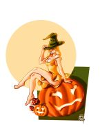 Halloween Special Pinup 1 by W-Orks