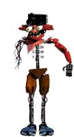 Withered fnaf 1 foxy by Doctorlysum