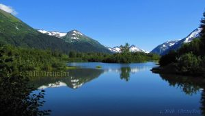 PORTAGE VALLEY REFLECTION by 1arcticfox