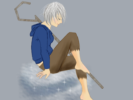 Female Jack frost by ZombieHighlighter