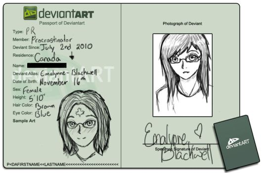 Passport ID by Emalynne-Blackwell
