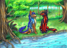 CM: By the Stream by Leithster