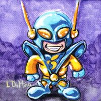 Chibi Yellowjacket by DiMaio