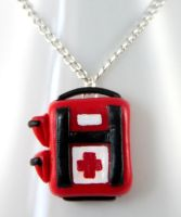 Left 4 Dead Health Pack by NeverlandJewelry