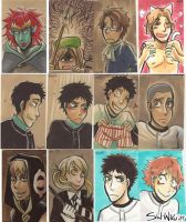 sketchcards of all kinds by sw