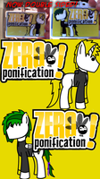 Zero ponification lanyard double sided by Kev-Dee
