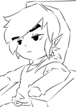 Link is not Impressed (Outline practice) by TriShine
