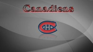 Canadiens by Bhaal5001