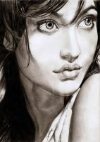 Neha Sharma by AmBr0