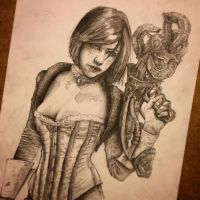 Traditional Elizabeth from Bioshock Infinite by tomasoverbai