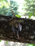 Steampunk hodge podge necklace by Hiddendemon-666