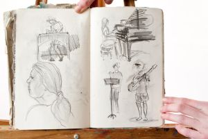 Sketches by fiyach