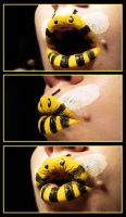Expressions of a Bumble Bee by viridis-somnio