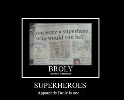 DBZ Broly Demotivational by thesalsaman