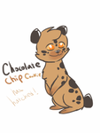 Chocolate chip cookie has hatched! by XAskJayfeatherX