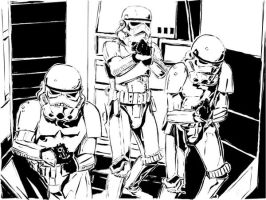 Star Wars troopers by admat