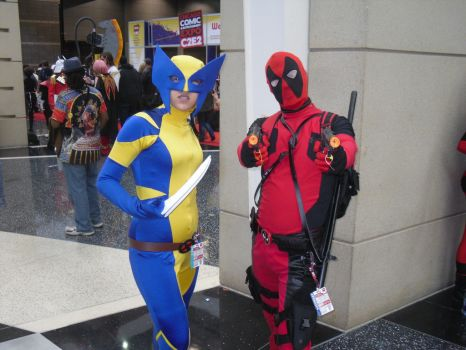 ALL-NEW WOLVERINE and DEADPOOL by Darth-Slayer