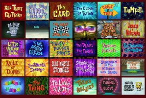 NEXT 20 Worst Spongebob Episodes [Voting Closed] by Blu3Danny