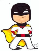 Chibi-Space Ghost. by hedbonstudios
