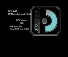 rainmeter dead space special skill bar gpu meter by louiezzz