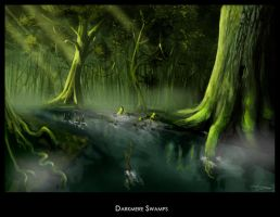 Darkmere swamps 2 by highdarktemplar