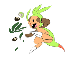 Chespin by Fly-Sky-High
