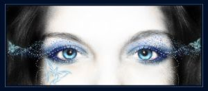 Blue Magic of Her Eyes by juliazip