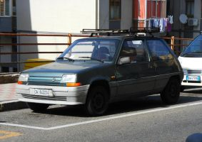 1990 Renault Super 5 by GladiatorRomanus