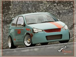 VW Polo GTi StreetDream by GoodieDesign