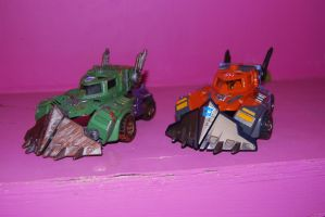 war for cybertron hook 4 by Shenron-Customs