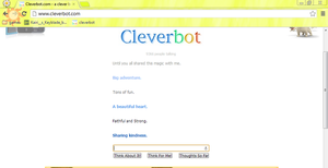 OMG CLEVERBOT by XxBlue-ThunderxX