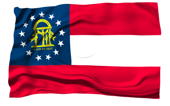 State Flags: Georgia by FearOfTheBlackWolf
