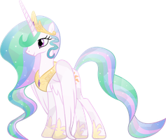 Crystal Princess Celestia by TheShadowStone