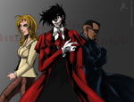 Commission - 3 Vampireslayers by RobertFiddler