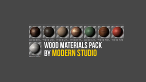Wood Materials Preset By Modern Studio by mehranchy