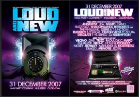 Loud and New flyer by Fla4flav