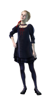 Dark Natalia-RE Revelations 2 PNG by Isobel-Theroux