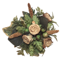 Bouquet Of Artificial Flowers png by Adagem