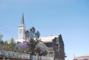 Asmara's Protestant Church by moonhare77