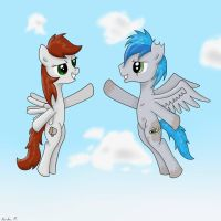 AT: A Highfive in the sky by FinnishGirl97