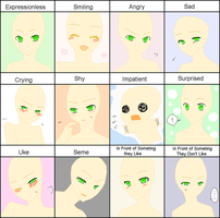 Expression Meme 01 [Base version] by Lio-san