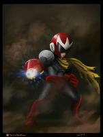 Protoman by BlackPicasso1989