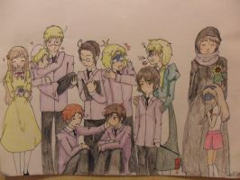 Hetalia Host Club by swiftdreamer15