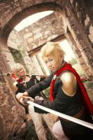 Final Fantasy Type-0: Jack and Nine 01 by Saabon