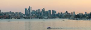 Seattle Panorama by vmulligan